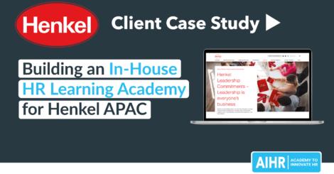 Henkel AIHR Case Study HR Academy