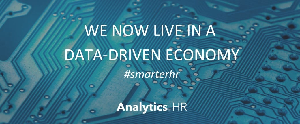 HR analytics: We now live in a data-driven economy