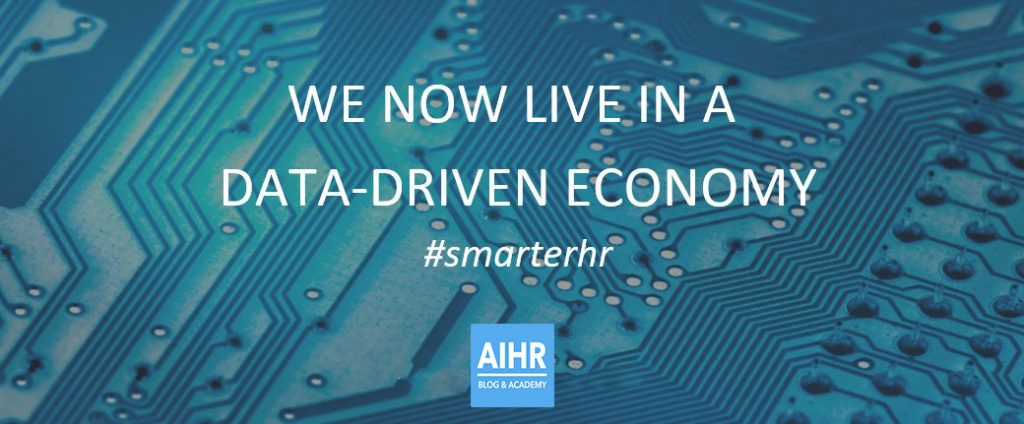 We now live in a data-driven economy