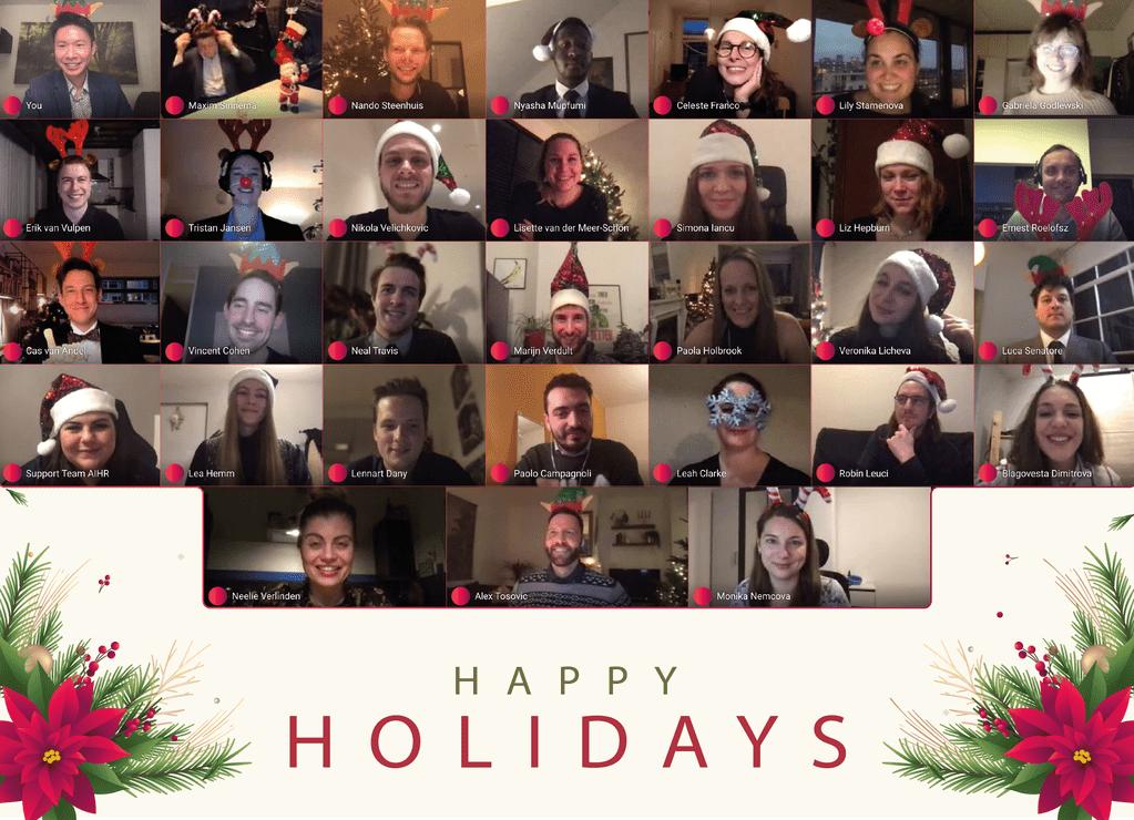 AIHR Team Holiday Greetings