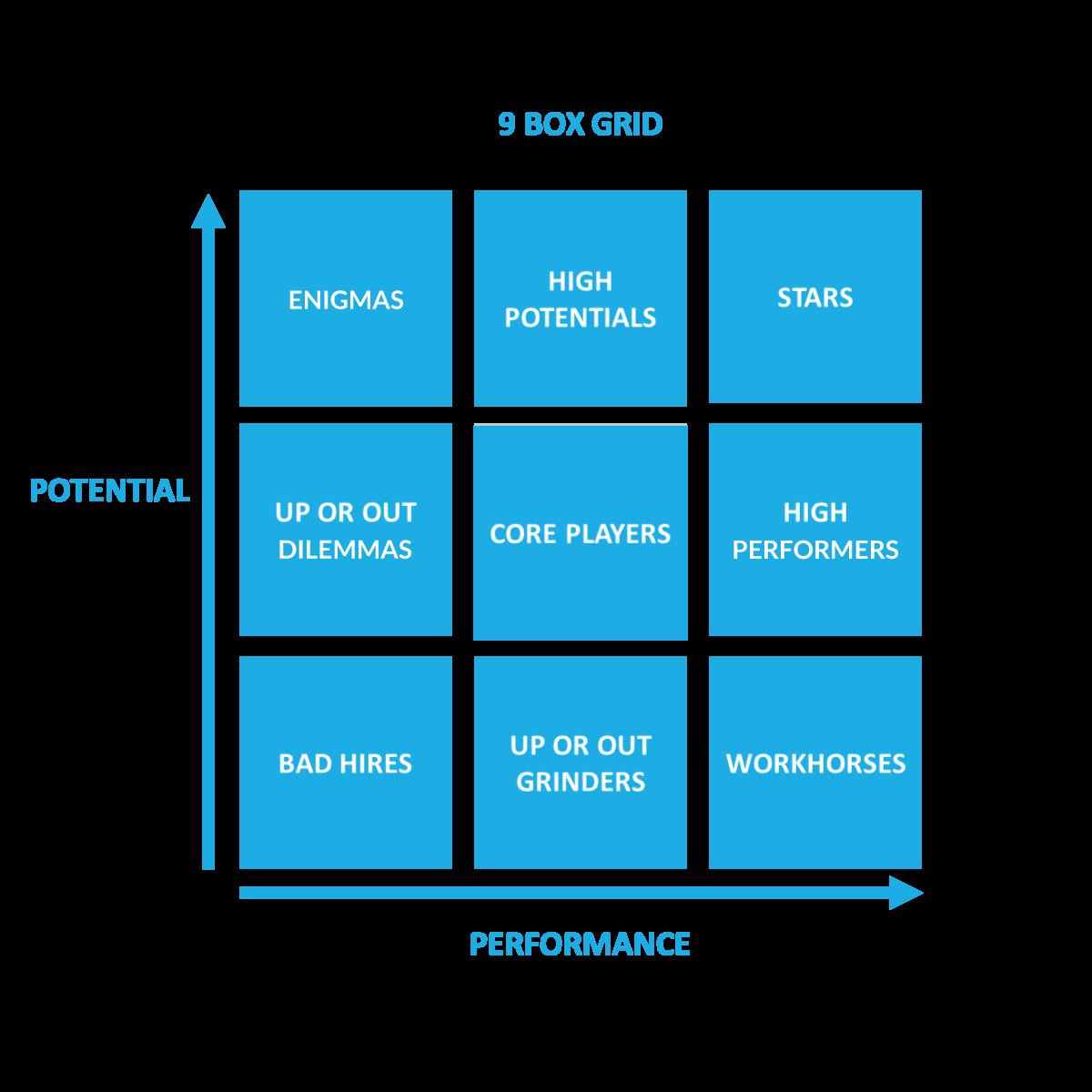 9 Box Grid for Leadership Development Plan