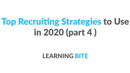 top recruiting strategies 2020
