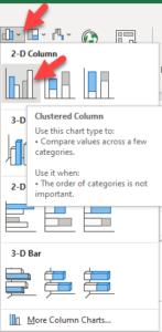 Clustered Column