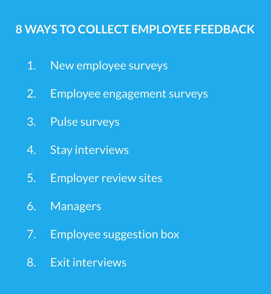 Collecting Employee Feedback