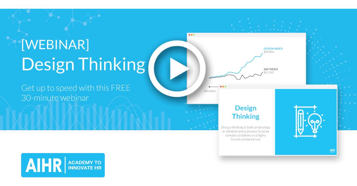 Design thinking in HR [WEBINAR]