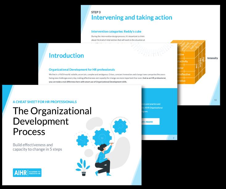 The Organization Development Process Cheat Sheet