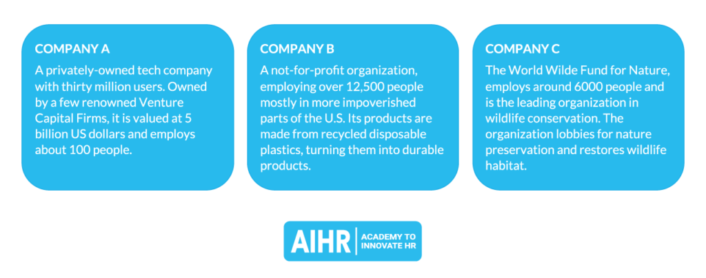 Examples of Effective Organizations