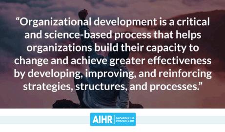 Organizational development definition