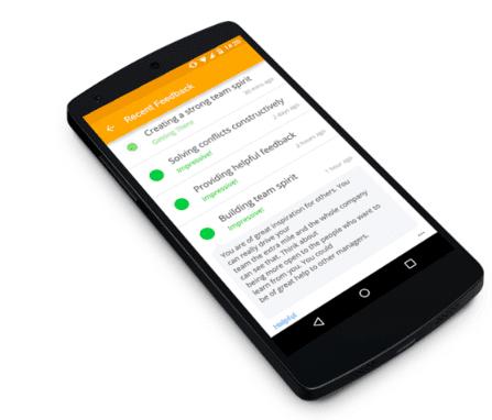 HR innovation: Impraise feedback app