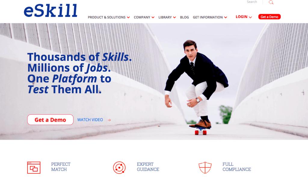 Top 31 Pre-employment assessment tools - eSkill