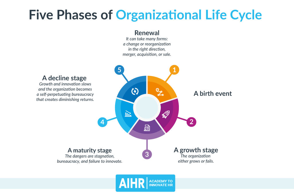 Phases of Organizational Life Cycle